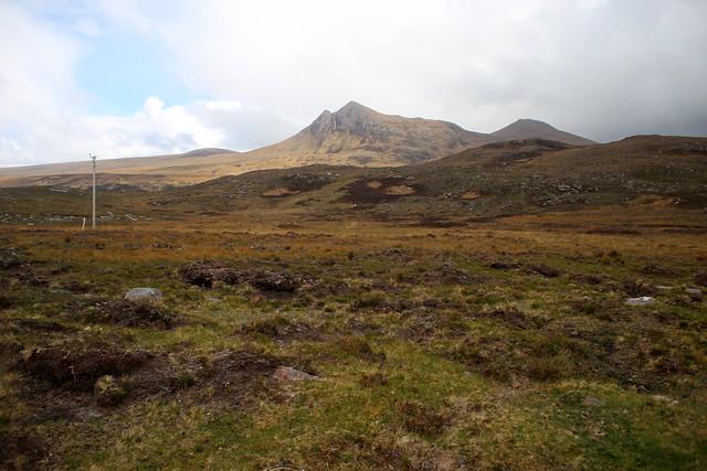 The posties path near Culnacraig