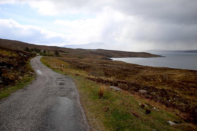 The road to Achduart