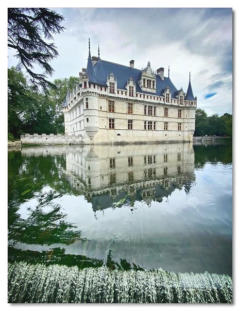Reflets du Château d'Azay-le-Rideau