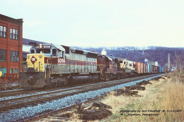 CR 6094-7640-6582, JN-5, Allentown, PA. 11-11-1977