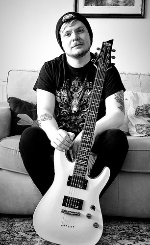 Geared Up: Winter Hotel's Liam Osment on Why the Schecter-Omen 6 is His Guitar of Choice
