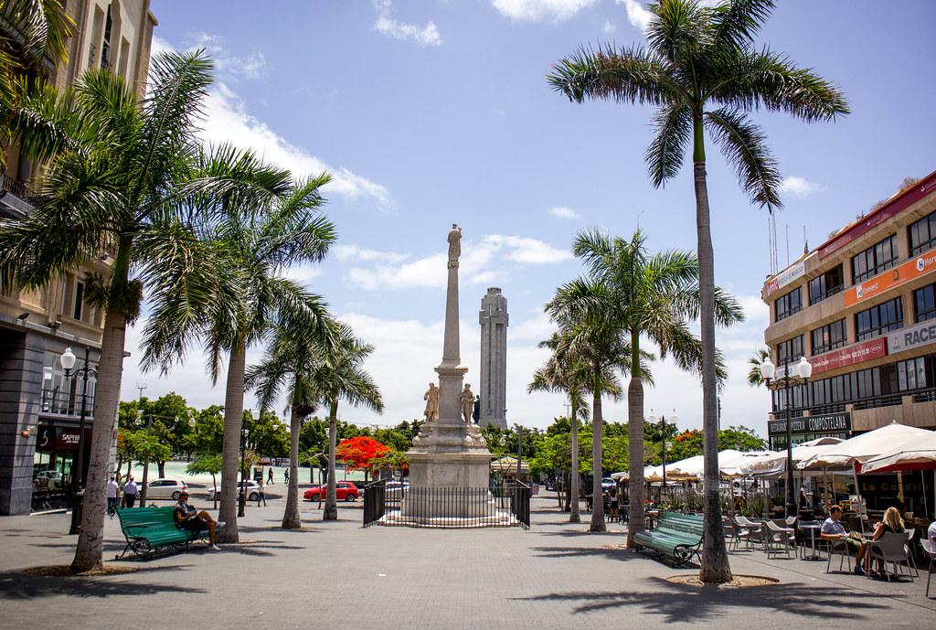 Plaza de Candelaria en Santa Cruz de Tenerife
