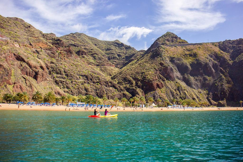 Kayak en Las Teresitas