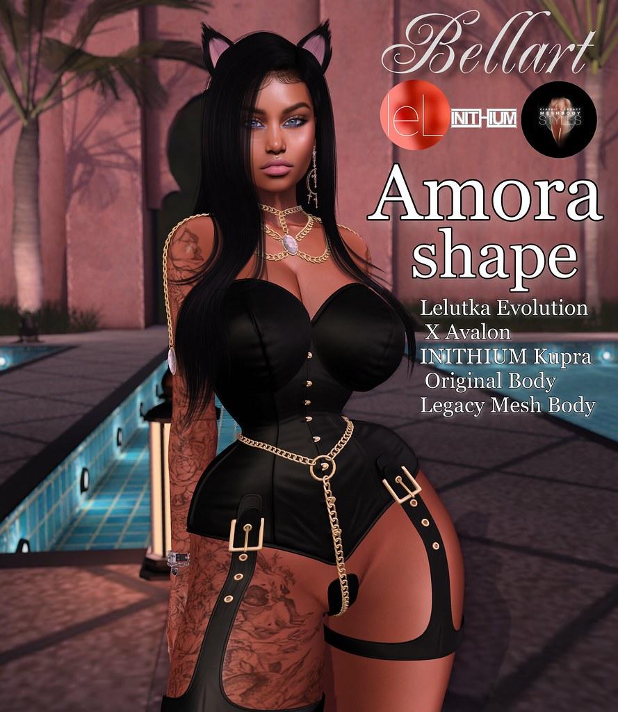 Amora shape for LeLU Avalon