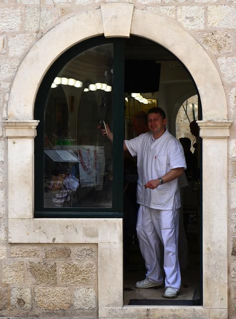 The barber of Dubrovnik