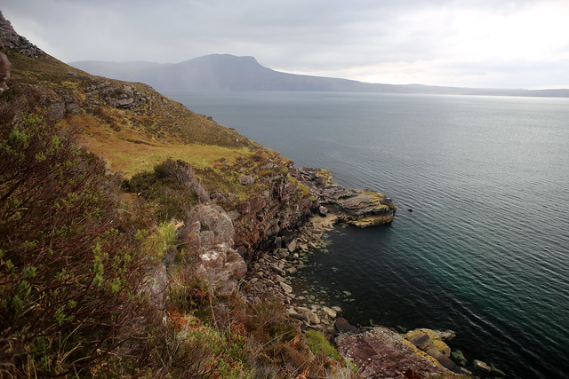 The posties path between Culnacraig and Strath Canaird