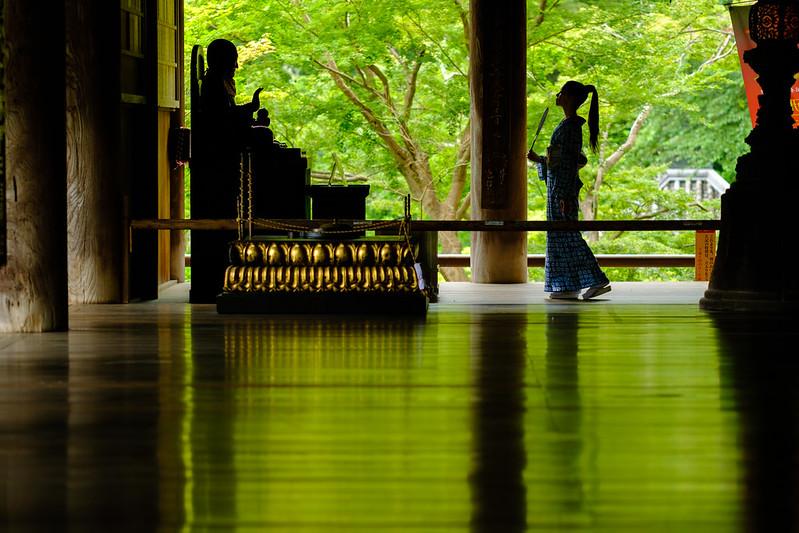 An audience with Kobo-Daishi