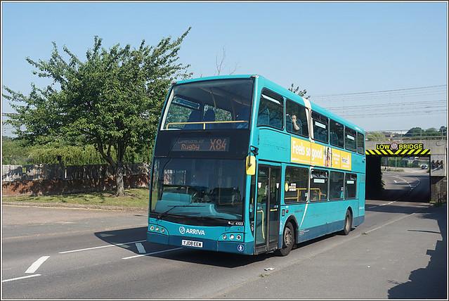 Arriva Midlands 4103, Newbold Road