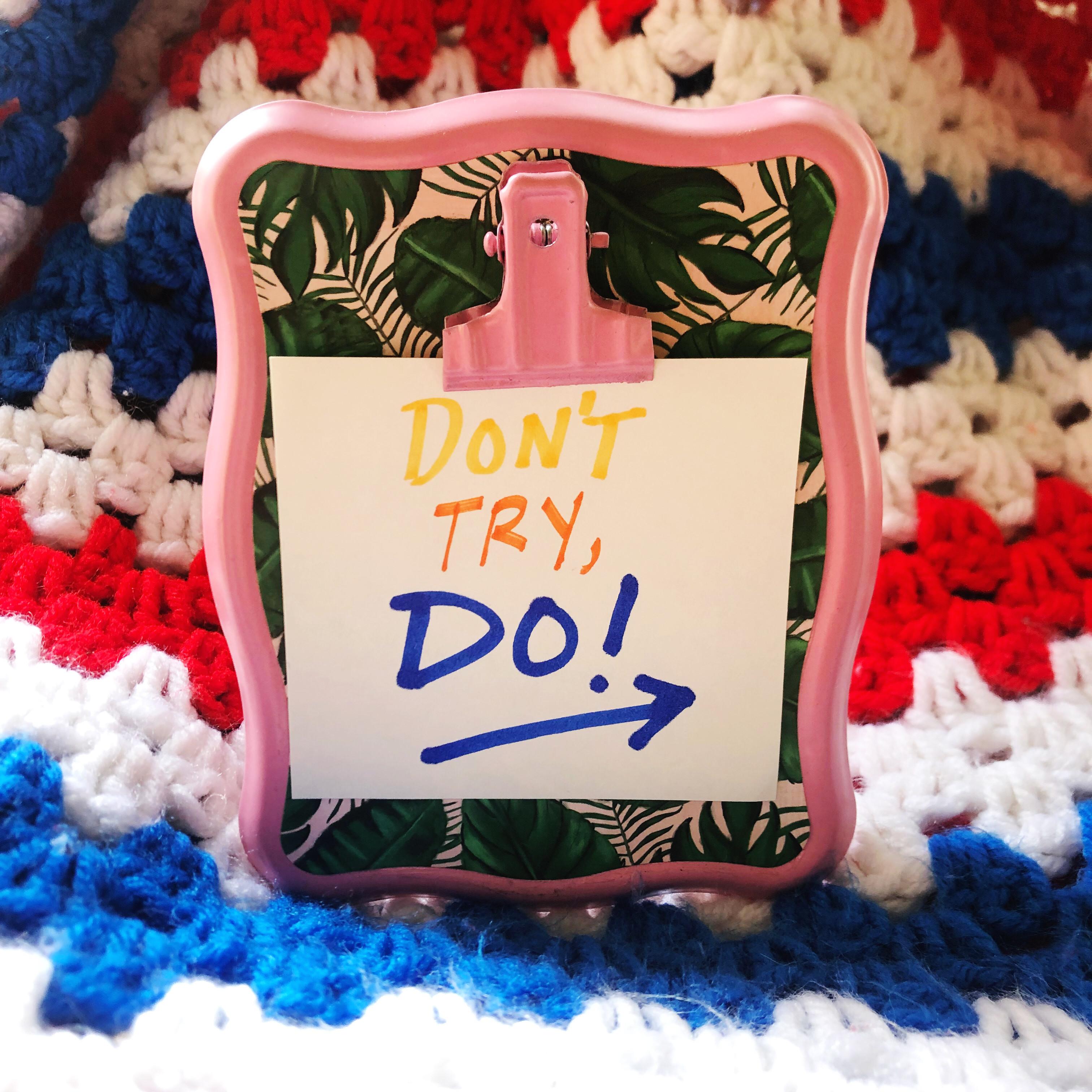 Reseller Tips 12 • Don't Try, Do!