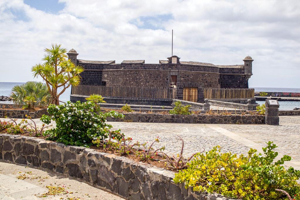 Castillo San Juan en Santa Cruz