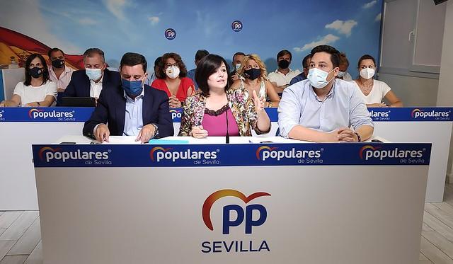 Juan de la Rosa Portavoz del Partido Popular en el Ayuntamiento de Sevilla