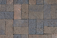 Pawnee Black Paver Coarse Velour Texture Brick Pavers