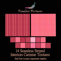 TT 14 Seamless Striped Interiors Carmine Timeless Textures