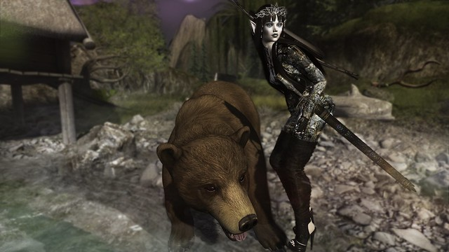 Bear! They're coming! Should we run like the wind or do you think we can take 'em?