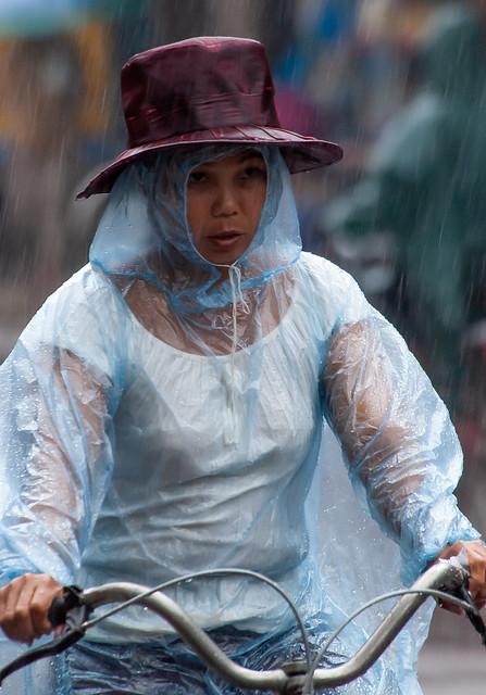 Portrait on a Rainy Day