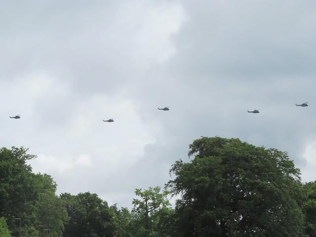 Puma 50th Ambush Formation High Wycombe 17 July 2021