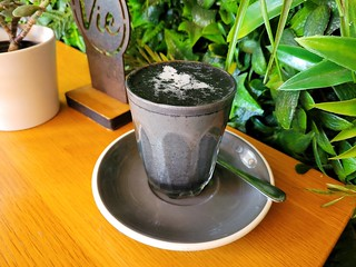 Char Char Latte at Cafe Vie