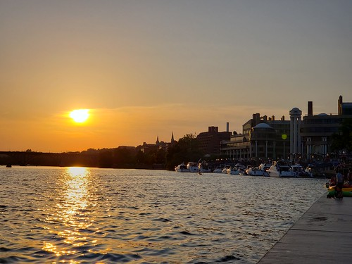 Georgetown Waterfront (Sunset)