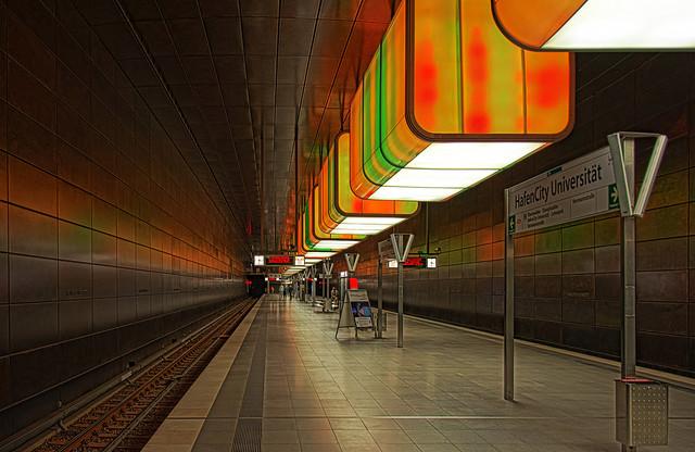Hamburg U-Bahn HafenCity Universität 5