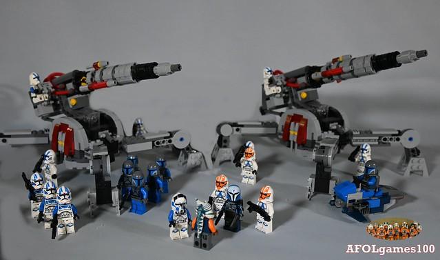 Lego attack on mandalore