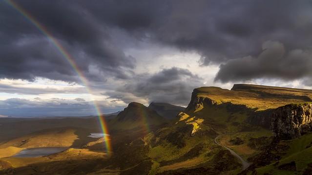 Quiraing Double Rainbow