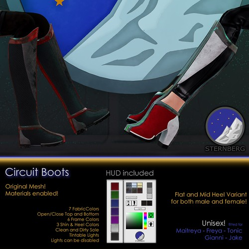 Circuit Boots