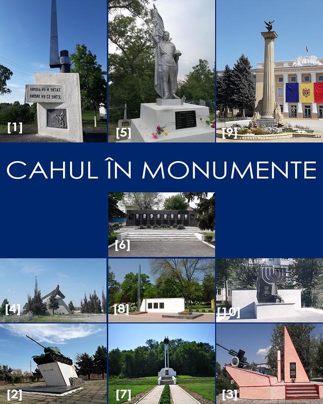 CAHUL IN MONUMENTE