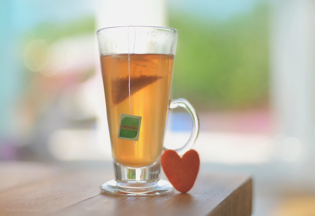 Peach and Orange Tea...