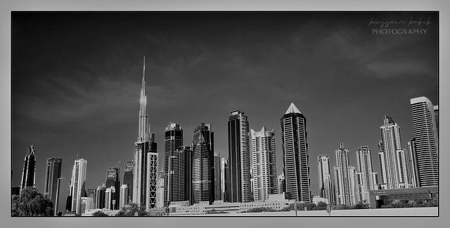 Dubai skyline-Uae picture captured on 19.07.21