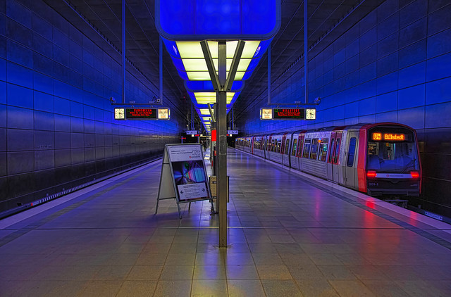 Hamburg U-Bahn HafenCity Universität 3