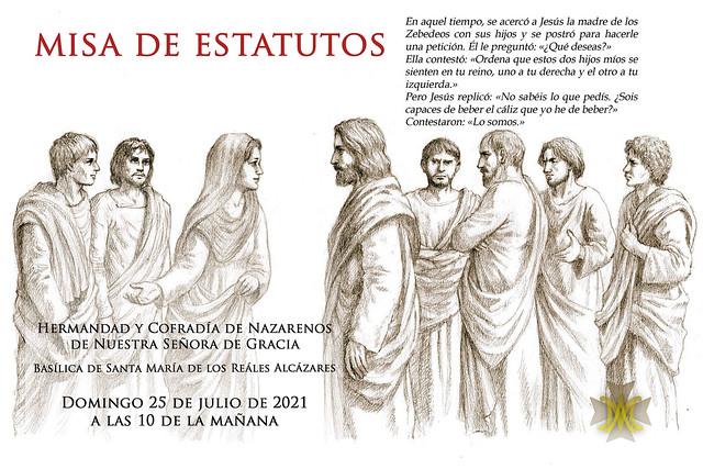 Misa de Estatutos julio 2021