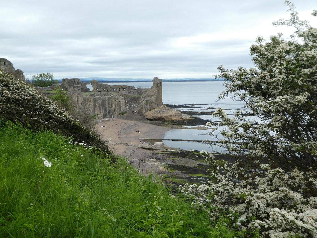 So Andrews castle ruins