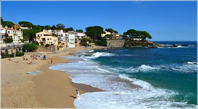 Playa del Canadell - Calella de Palafrugell - Girona