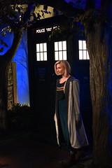 Jodie and the TARDIS