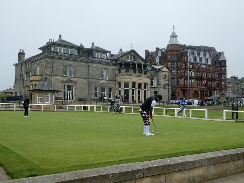 The Old Course Practice Green, St Andrews