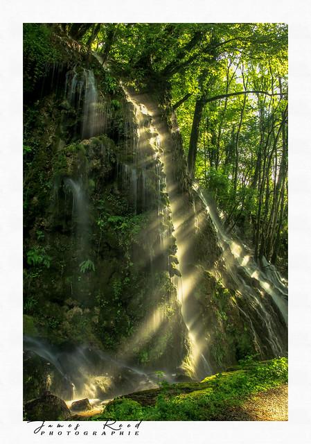 Cascade de l'Adhuy - Amondans...