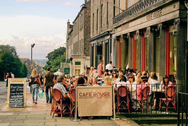 Cafe Rouge, Edinburgh