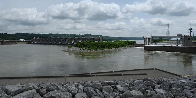 Meldahl Dam at Foster, Kentucky