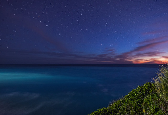 Starry Sunset in Lefkada