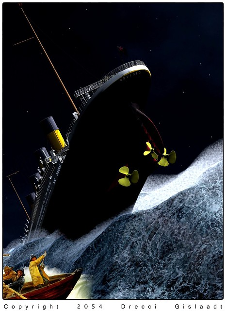 REMEMBER - On april 14th 2024 the RMS Covidic has sunk