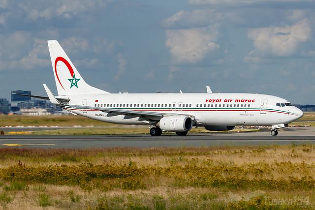 CN-RNU | Royal Air Maroc | Boeing 737-8B6 | FRA/EDDF