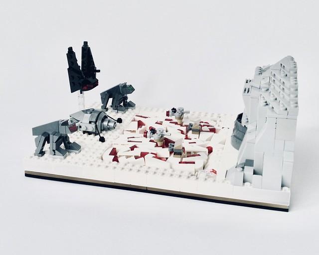 LEGO - Battle of Crait