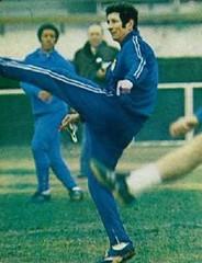 Temporada 1977/78: Heriberto Herrera, entrenador del Espanyol de Barcelona