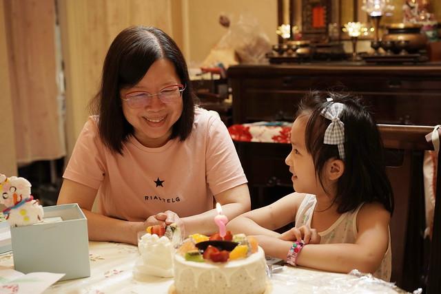 Happy birthday to grandma