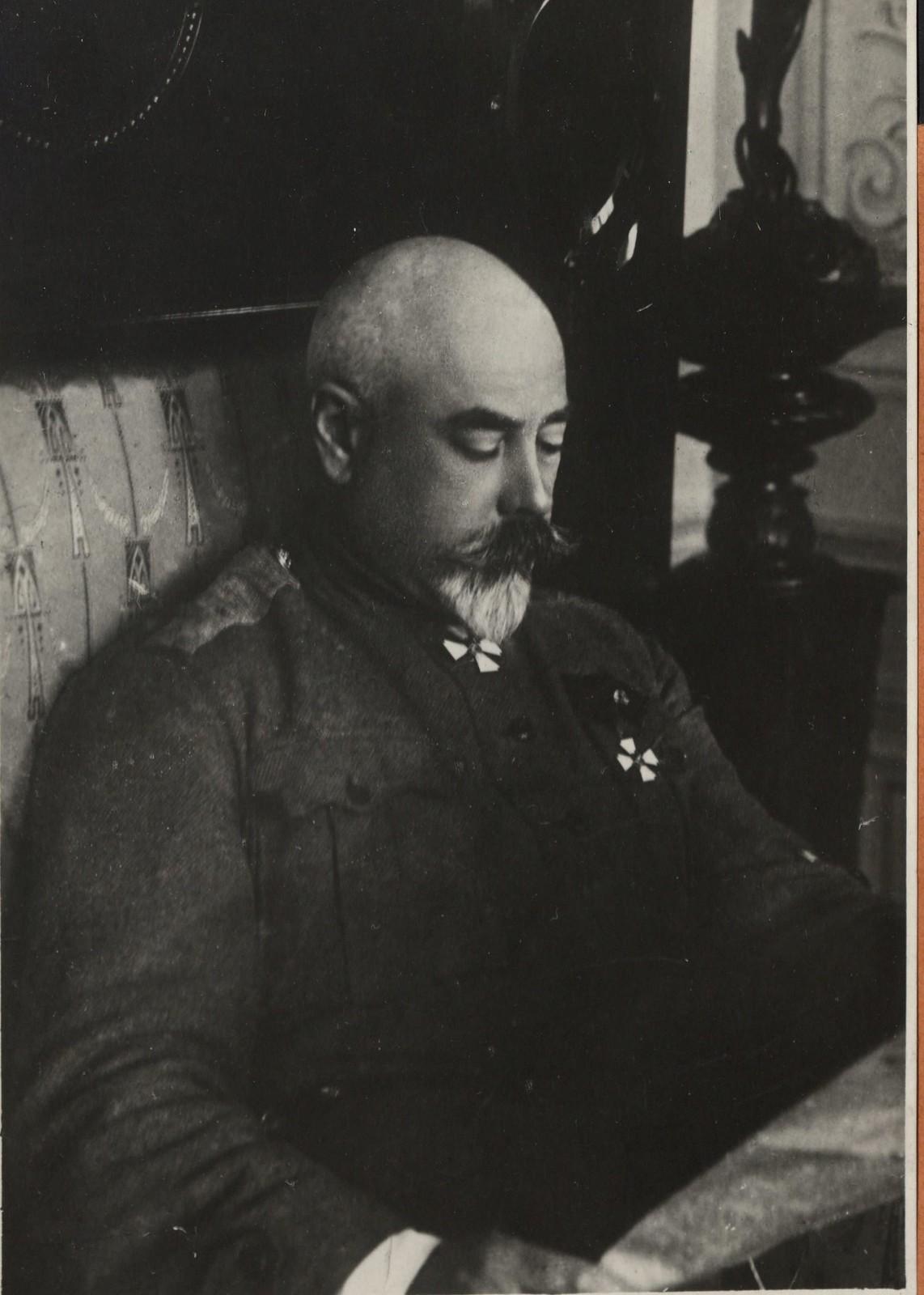 511. 1918. Генерал Деникин в Екатеринодаре