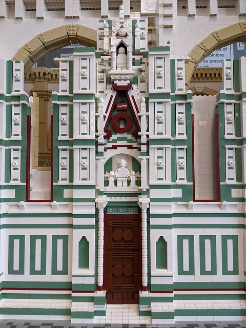 Florence Cathedral North Wall Progress... Fun day of building.