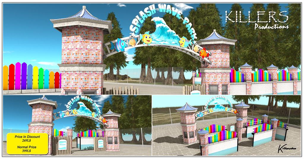 """Killer's"" Splash Wave Park Fence Kit On Discount @ Dubai Event Starts from 20th July"
