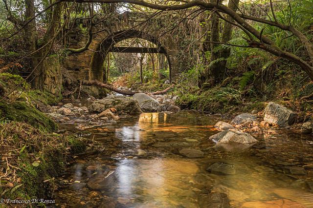 old bridge of the Rio Cabo .)1610/795