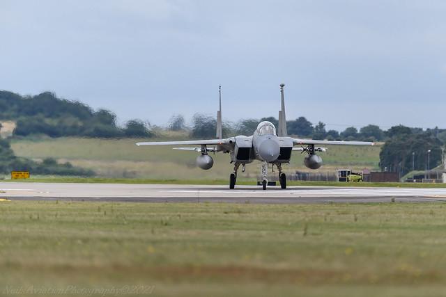 F-15C 86-0164 493rd FS