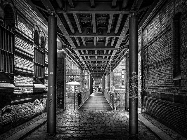 Hamburg Hafenciy Kippelsteg